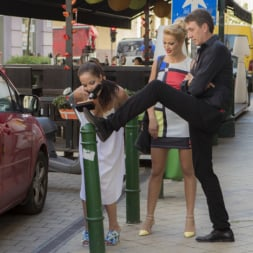 Cherry Kiss in 'Kink' Dolly Diore's All Out Public Fuckfest (Thumbnail 1)