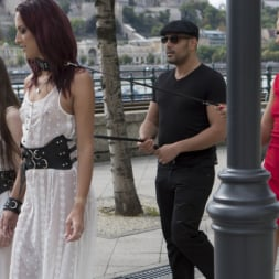 Cherry Kiss in 'Kink' Fresh Meat Angel Rush and Lyen Parker Humilated and Fucked in Public! (Thumbnail 2)