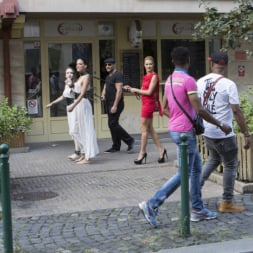 Cherry Kiss in 'Kink' Fresh Meat Angel Rush and Lyen Parker Humilated and Fucked in Public! (Thumbnail 4)