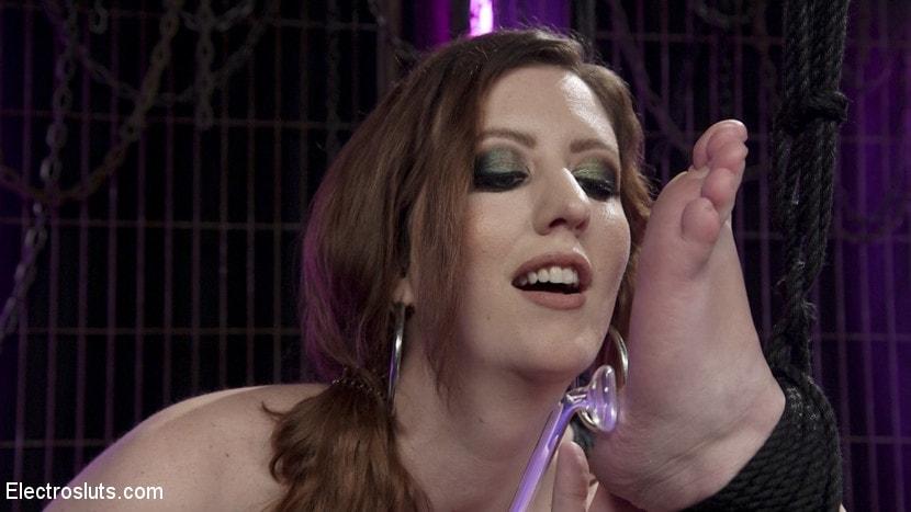 Kink 'Trains New Lesbian Electro-Slave' starring Cherry Torn (Photo 17)
