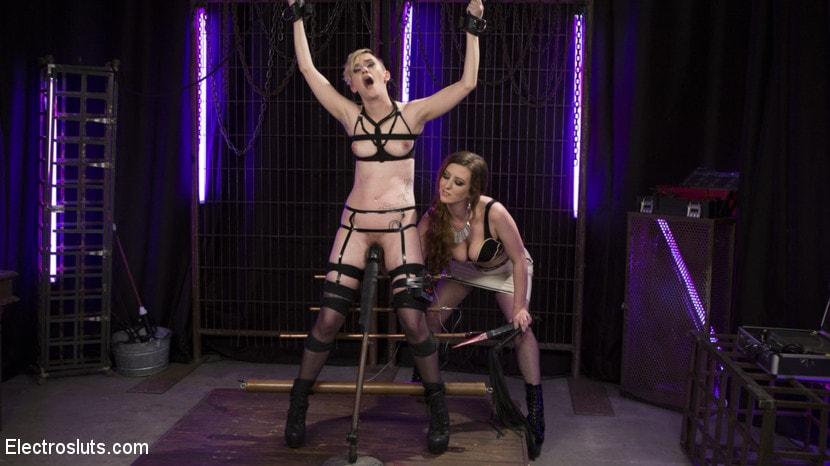 Kink 'Trains New Lesbian Electro-Slave' starring Cherry Torn (Photo 19)