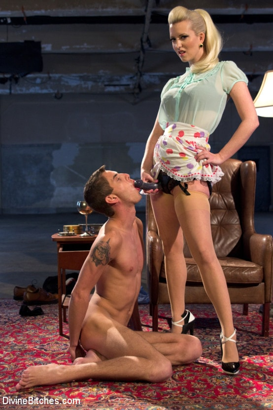 Kink 'Only A Woman Is Strong Enough To Control This Young Cock' starring Cherry Torn (photo 4)