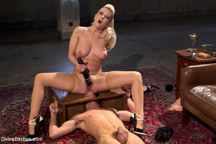 Kink 'Only A Woman Is Strong Enough To Control This Young Cock' starring Cherry Torn (photo 9)