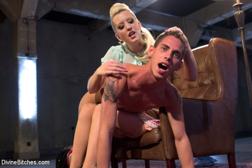 Kink 'Only A Woman Is Strong Enough To Control This Young Cock' starring Cherry Torn (photo 14)