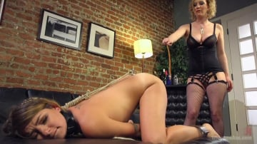 Cherry Torn - Whore In Training: Missy Minks anally submits to Cherry Torn!