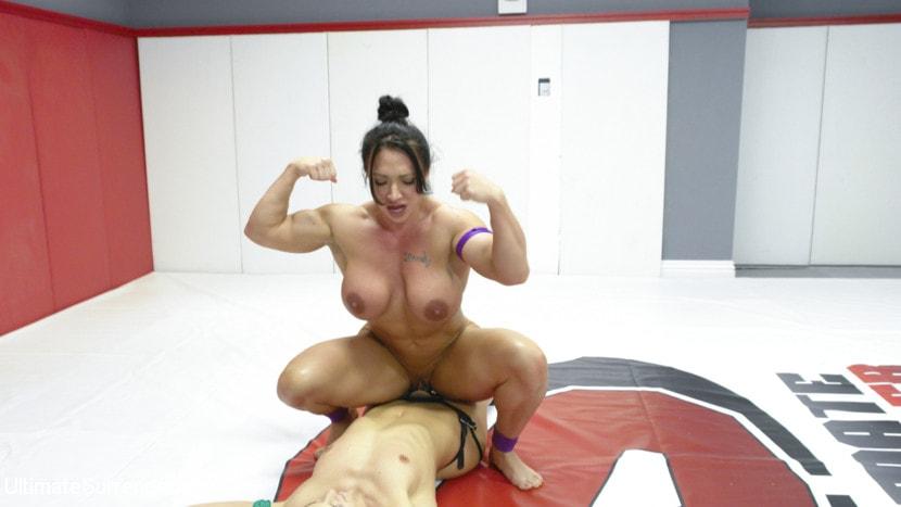 Kink 'muscle Goddesses Battle on the mats' starring Cheyenne Jewel (Photo 12)