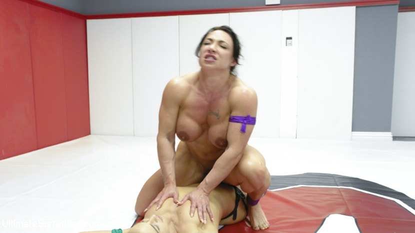 Kink 'muscle Goddesses Battle on the mats' starring Cheyenne Jewel (Photo 15)