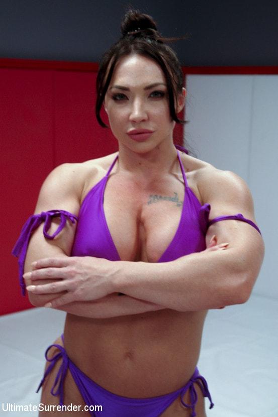 Kink 'muscle Goddesses Battle on the mats' starring Cheyenne Jewel (Photo 16)