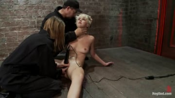Chloe Camilla - Super cute blond is tormented, cloths pins on her body are ripped off, made to cum over and over!!