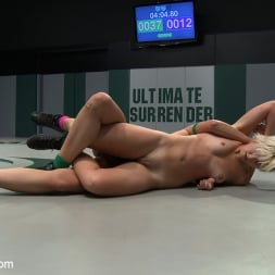 Chloe Camilla in 'Kink' Two sexy rookies battle it out to see who fucks who. Chloe is beaten and then fucked hard! (Thumbnail 15)