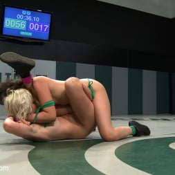 Chloe Camilla in 'Kink' Two sexy rookies battle it out to see who fucks who. Chloe is beaten and then fucked hard! (Thumbnail 17)