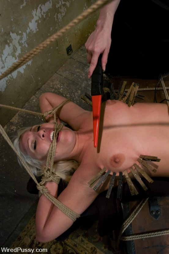 Kink 'Krissy Leigh gets bound and fisted' starring Claire Adams (Photo 16)