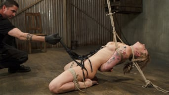 Dahlia Sky in 'Blonde Hottie Takes Severe Torment in Brutal Bondage'