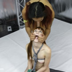 Daisy Ducati in 'Kink' Poor little Red head tied up and fucked in the Ass for losing (Thumbnail 5)