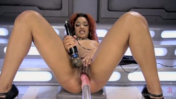 Daisy Ducati - Pussy Stretched with Big Red, Ass Fucking, and Non Stop Squirting!!