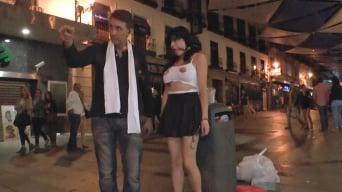 Damaris in 'Sexy whore Damaris humiliated in public'