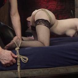 Anna Tyler に 'Kink' セックスのためのファストロープボンデージ (サムネイル 5)
