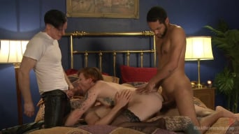 Sahara Rain in 'How to Perform Double and Triple Penetration: One Slut and Many Cocks'