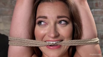 Dani Daniels in 'in Brutal Bondage, Tormented, and Made to Cum Uncontrollably.'