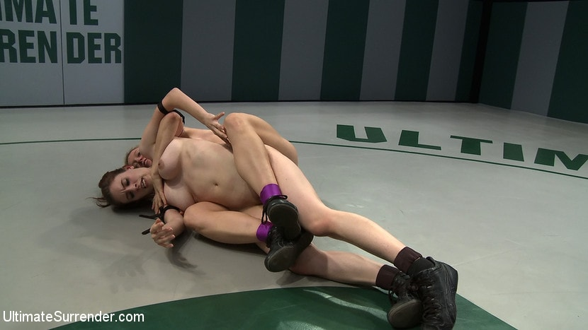 Kink '2 wrestlers with HUGE tits, non-scripted wrestling Blond destroys red head fucks her like a whore' starring Darling (Photo 13)