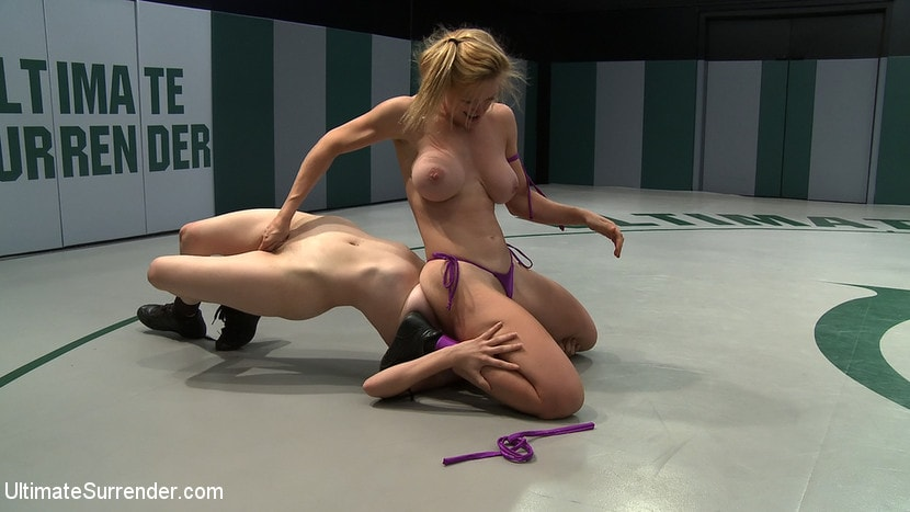 Kink '2 wrestlers with HUGE tits, non-scripted wrestling Blond destroys red head fucks her like a whore' starring Darling (Photo 15)