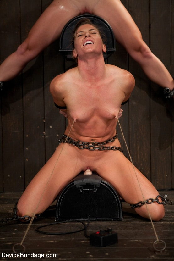 Kink 'Nipple brutality on the sybian until sweaty and wrecked' starring Dia Zerva (photo 8)