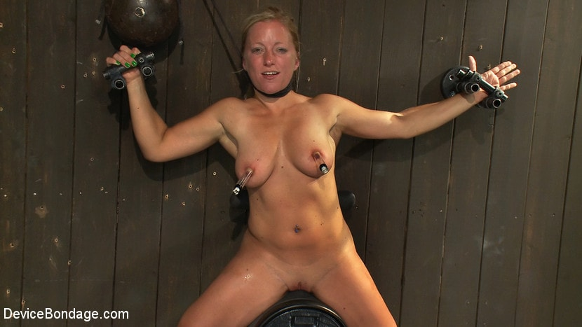 Kink 'Nipple brutality on the sybian until sweaty and wrecked' starring Dia Zerva (photo 12)