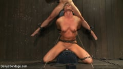 Dia Zerva - Nipple brutality on the sybian until sweaty and wrecked (Thumb 10)
