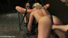 Dia Zerva - Puzzle Perfect - Face fucking, Ass Hook Tugging, Hard Flogging Mayhem (Thumb 16)