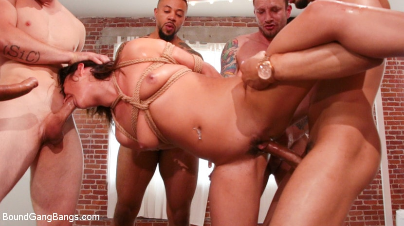 Kink 'Isabella Nice Banged by Five Big Dicked Burglars' starring Donny Sins (photo 5)