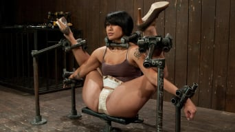 DragonLily in 'Hard foot caning, harder orgasms.'