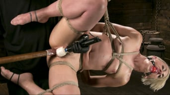 Dylan Ryan in 'Blonde Goddess is Destroyed in Devastating Predicament Bondage'