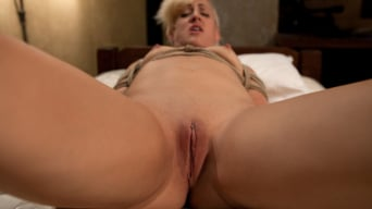 Dylan Ryan in 'Tall long legged blond is hung upside down, made to cum Choked, clamped and abused, left hanging..'
