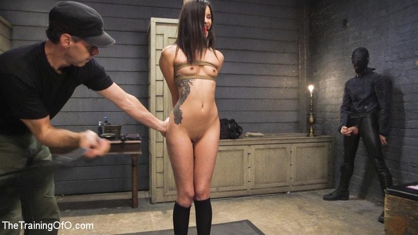 Kink 'Bondage Slut Eden Sin Submits to Deep Anal Discipline Training' starring Eden Sin (Photo 1)