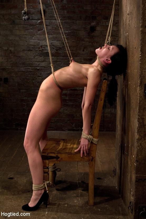 Kink 'Brutal nipple pulling, slow strangulation, extreme back arching Made to cum so hard, so often.' starring Elise Graves (Photo 1)