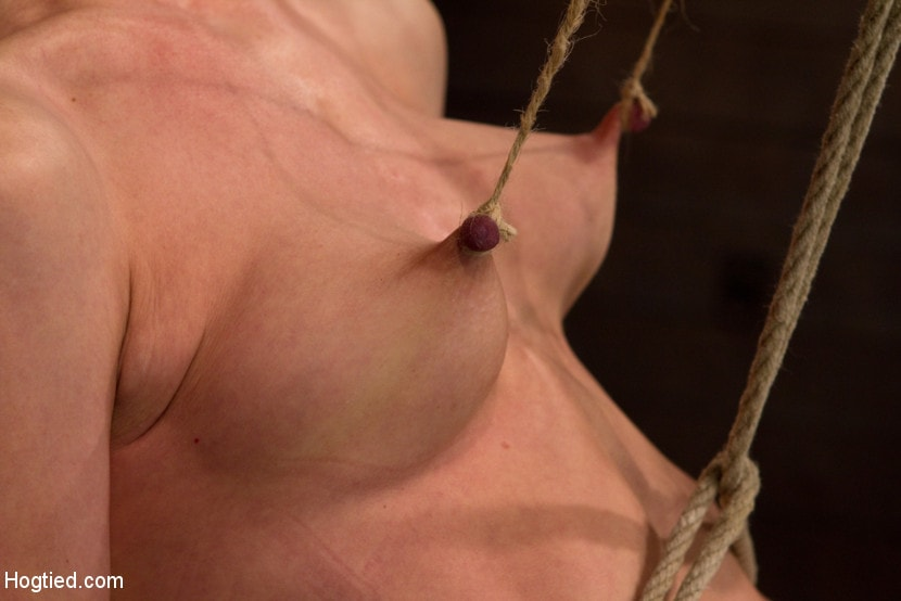 Kink 'Brutal nipple pulling, slow strangulation, extreme back arching Made to cum so hard, so often.' starring Elise Graves (Photo 4)