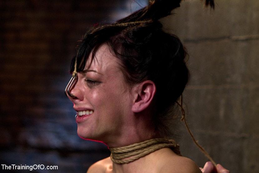 Kink 'Young Rope Slut Gets a Full Day of Intense Bondage - Live' starring Elise Graves (Photo 5)