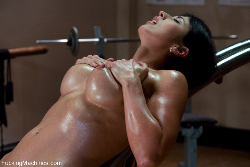 Kink 'Pilates Instructor - Elyse stretches for the machines' starring Elyse (Photo 4)