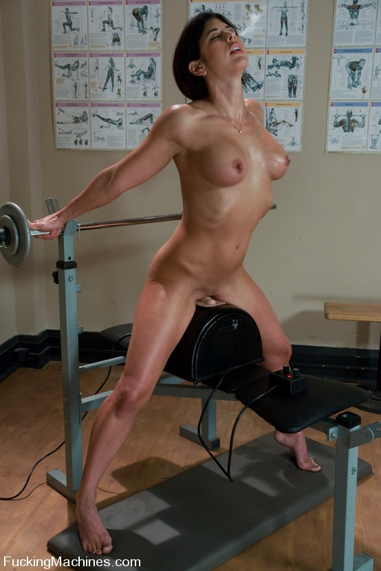 Kink 'Pilates Instructor - Elyse stretches for the machines' starring Elyse (Photo 11)