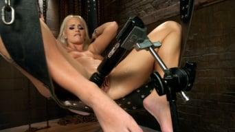 Emily Austin in 'Southern Blonde Babe Straddles Machines and Cums like a bucking Filly!'
