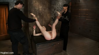 Emma Haize in 'March's Live Show 23 Tickled, flogged, foot caned, banged, squirting and vibrated to brutal orgasm'