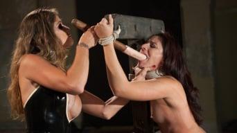 Felony in 'Damsel in Distress, Sheena Ryder, Submits to Felony's Heavy Hand'