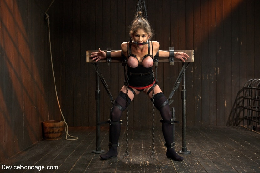 Kink 'Extreme immobilization! Felony is at the mercy of two fierce Doms.' starring Felony (Photo 1)