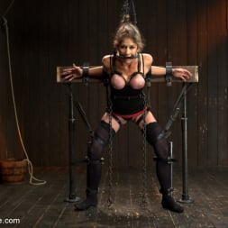Felony in 'Kink' Extreme immobilization! Felony is at the mercy of two fierce Doms. (Thumbnail 1)