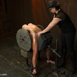 Felony in 'Kink' Extreme immobilization! Felony is at the mercy of two fierce Doms. (Thumbnail 6)