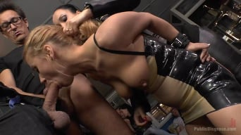 Fetish Liza in 'Blonde Anal Slut Disgraced on Dirty Streets'