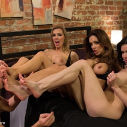 Francesca Le in 'Kink' 3 Legendary MILF Superstars and the Pizza Boy! (Thumbnail 7)