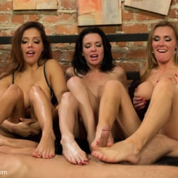 Francesca Le in 'Kink' 3 Legendary MILF Superstars and the Pizza Boy! (Thumbnail 12)