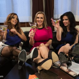 Francesca Le in 'Kink' 3 Legendary MILF Superstars and the Pizza Boy! (Thumbnail 14)