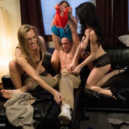 Francesca Le in 'Kink' 3 Legendary MILF Superstars and the Pizza Boy! (Thumbnail 18)